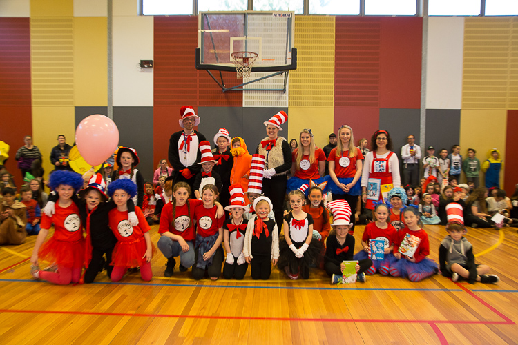 Students dress up for 2016 Book Parade