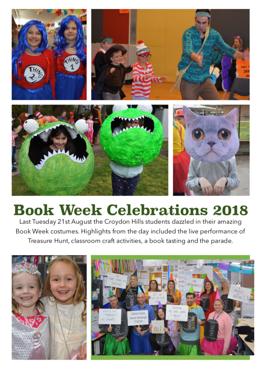Book Week celebrations at CHPS