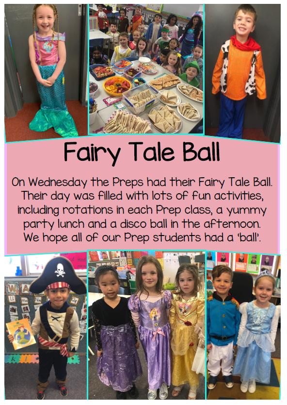 The Preps createded their ownn Fairy Tale.