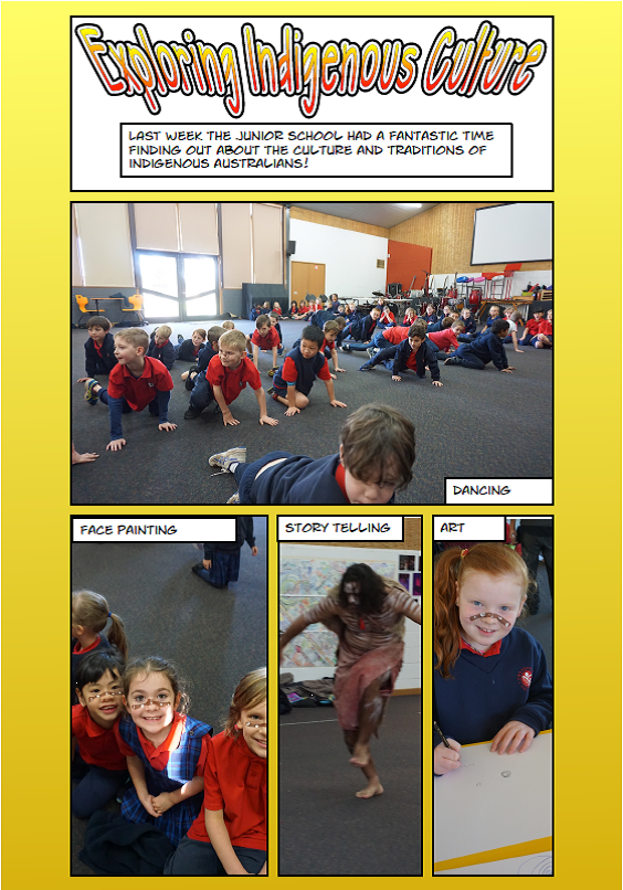 Junior students spent a day exploring Indigenous culture with this stimulating incursion.