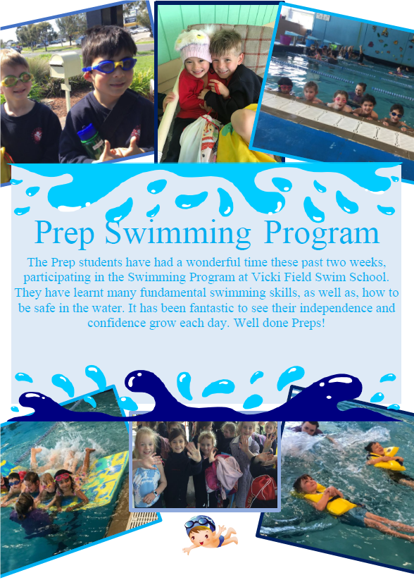Intensive swimming program for Preps 2018