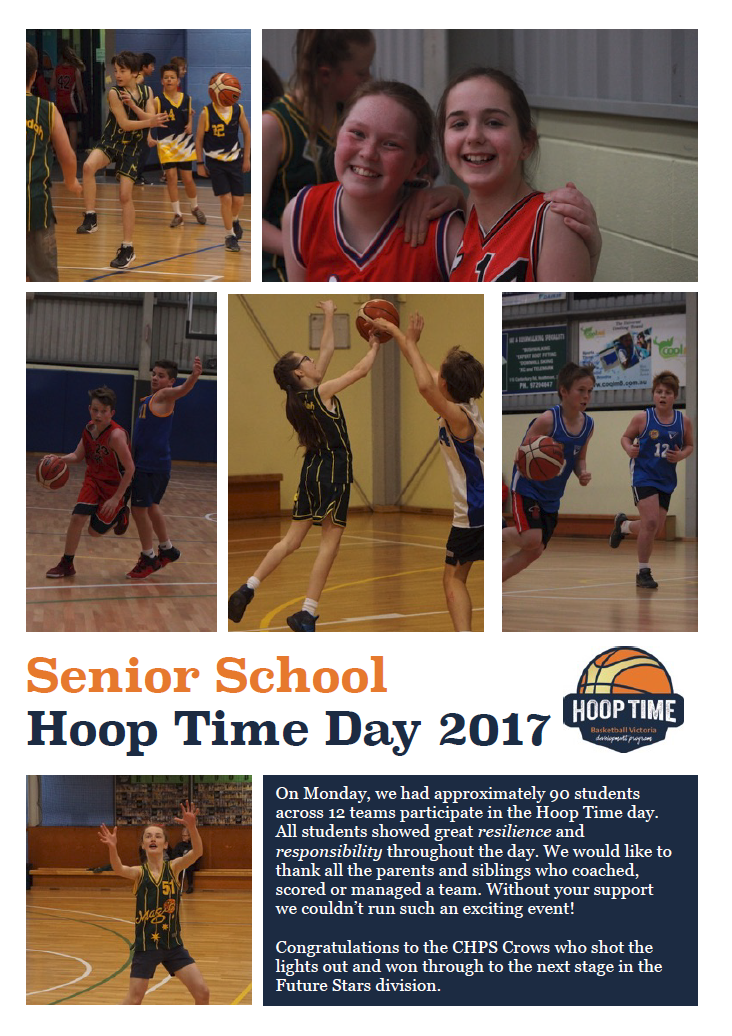 seniot students at Hooptime